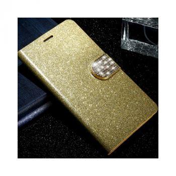 Роскошный кожаный чехол книжка Diamond Leather для Samsung Galaxy Note 7