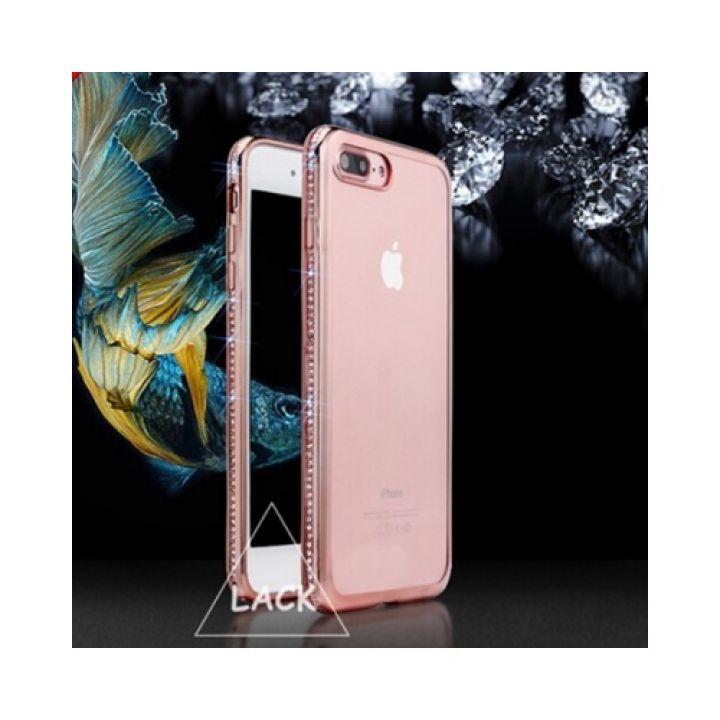 Роскошный бампер Pure Diamonds для iPhone 8 Plus rose