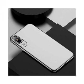 Практичный ультратонкий чехол для iPhone Xs Silk Touch серый