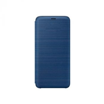 Чехол книжка Full cover для Samsung Galaxy S9 синий