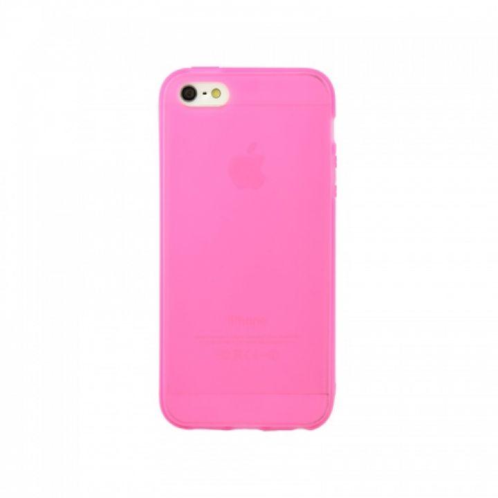 Оригинальная силиконовая накладка для iPhone 6 Plus розовый
