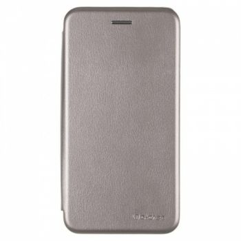 Чехол книжка из кожи Ranger от G-Case для Meizu M5 Note серый