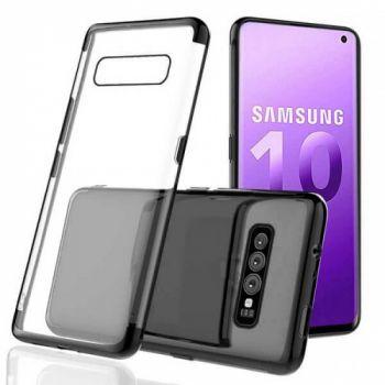Оригинальный чехол бампер Golden Black для Samsung Galaxy S10 Plus