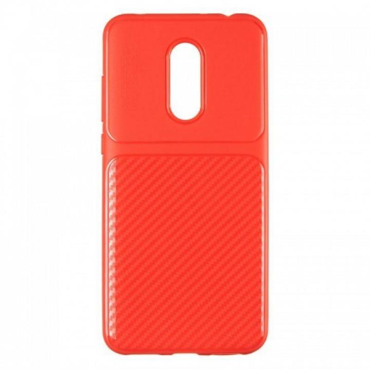 Чехол хамилион с прозрачной половиной для Xiaomi Redmi 5 Plus красный