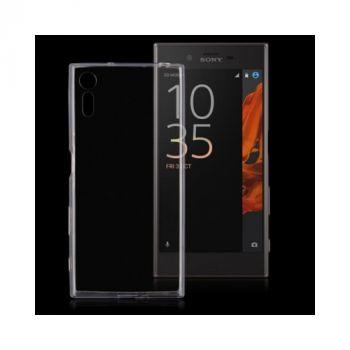Ультратонкий прозрачный чехол накладка Bright для Sony Xperia XZ