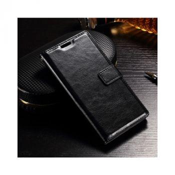 Кожаный чехол книжка Vintage для Sony Xperia XZ black от Floveme