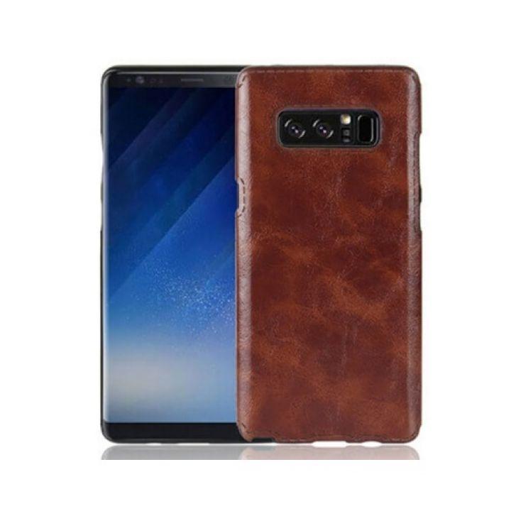 Коричневый чехол накладка Flatty для Samsung Galaxy Note 8