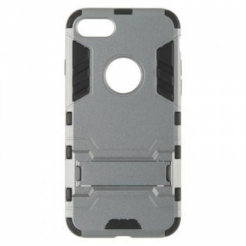 Пластиковый ударопрочный чехол от Honor для iPhone 8 серый