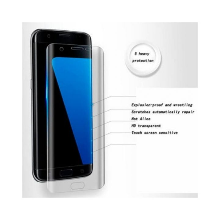 Прозрачная защитная пленка для Samsung Galaxy S8 Plus