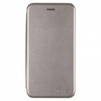 Чехол книжка из кожи Ranger от G-Case для Meizu M5c серый