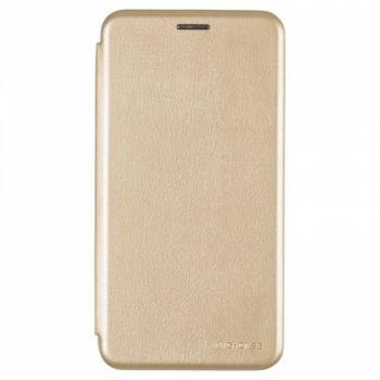 Чехол книжка из кожи Ranger от G-Case для Meizu M6s золото