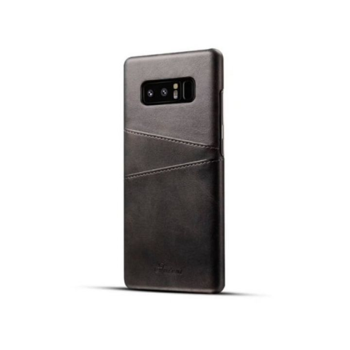 Кожаный чехол пенал Luxor для Samsung Galaxy Note 8 dark gray