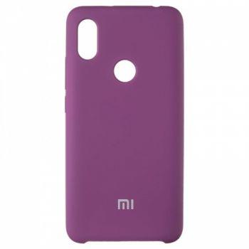 Оригинальный чехол накладка Soft Case для Xiaomi Redmi S2 Violet