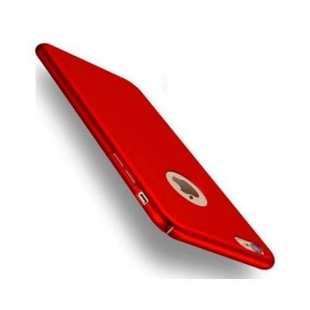 Silk Touch тонкий чехол бампер для iPhone 7 red