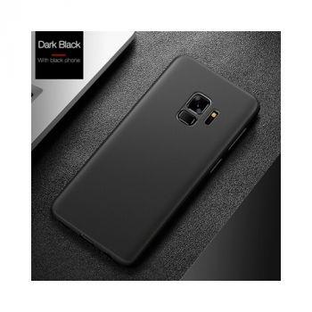 Ультратонкий черный чехол Silk Touch для Samsung Galaxy S9