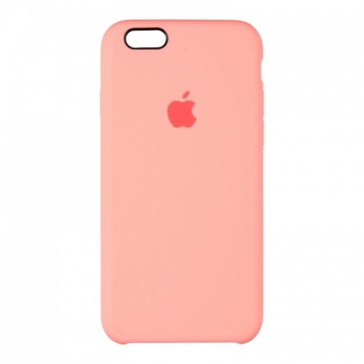 Оригинальный чехол накладка Soft Case для iPhone 6 Plus Light розовый