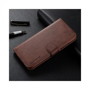 Оригинальный чехол книжка коричневый Lock для Samsung Galaxy S9 Plus