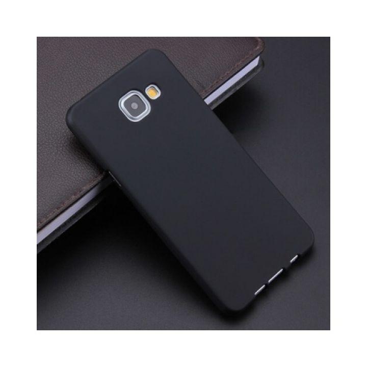 Черный чехол накладка Delicate для Samsung Galaxy A3 2016