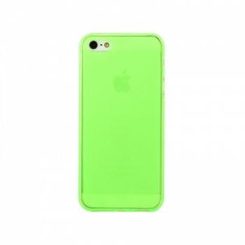 Оригинальная силиконовая накладка для iPhone 5 зеленый