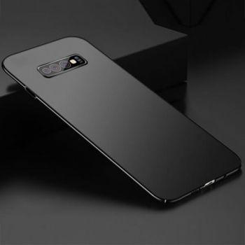 Пластиковый чехол накладка Soft Black для Samsung Galaxy S10