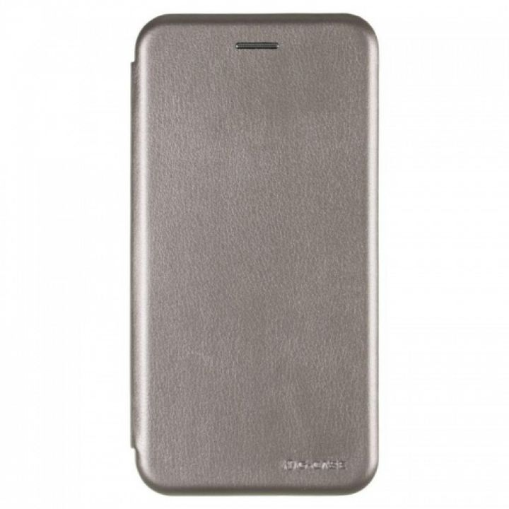 Чехол книжка из кожи Ranger от G-Case для Xiaomi Redmi 5 Plus серый