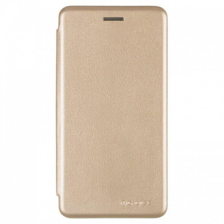 Чехол книжка из кожи Ranger от G-Case для Xiaomi Redmi 5a золотой