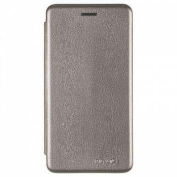 Чехол книжка из кожи Ranger от G-Case для Xiaomi Redmi 5a серый