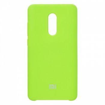 Оригинальный чехол накладка Soft Case для Xiaomi Redmi 4x зеленый