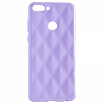 Накладка в ромбиках для девочек на Huawei P Smart Plus/Nova 3i фиолетовый