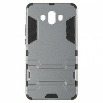 Пластиковый ударопрочный чехол накладка для Huawei Mate 10 серый