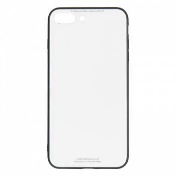Чехол накладка со стеклом iPaky Glass для Huawei Y7 Prime белый