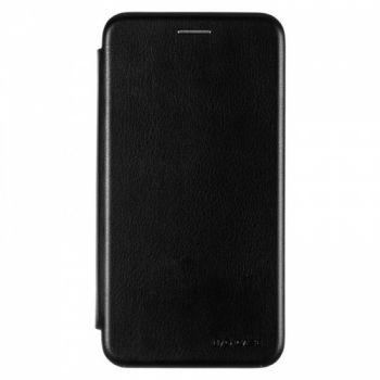 Чехол книжка из кожи Ranger от G-Case для Huawei Y9 черный