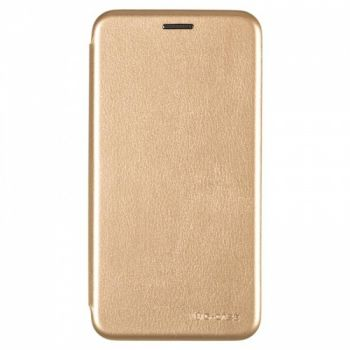 Чехол книжка из кожи Ranger от G-Case для Xiaomi Redmi Note 6 Pro Gold
