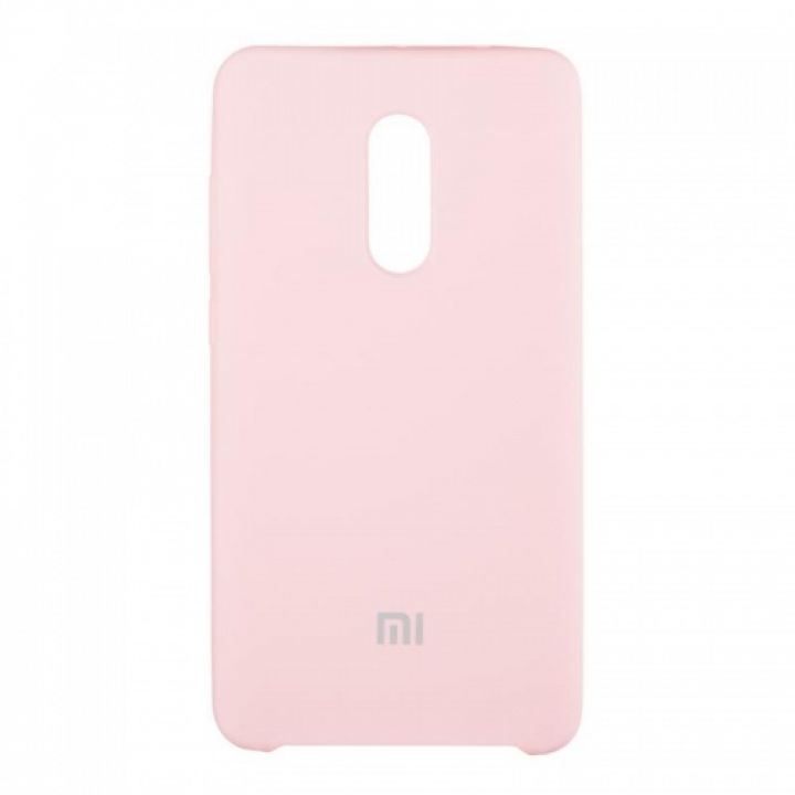Оригинальный чехол накладка Soft Case для Xiaomi Mi5x/A1 розовый
