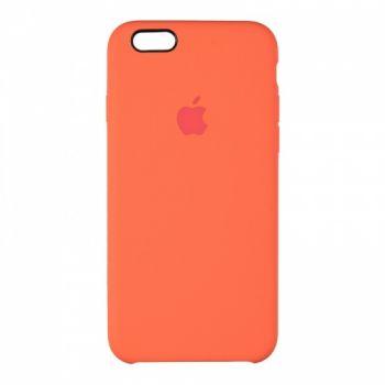 Оригинальный чехол накладка Soft Case для iPhone 6 оранжевый