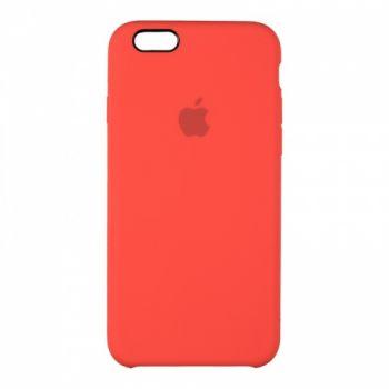 Оригинальный чехол накладка Soft Case для iPhone 5 красный
