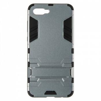 Пластиковый ударопрочный чехол накладка для Huawei Nova 2s серый