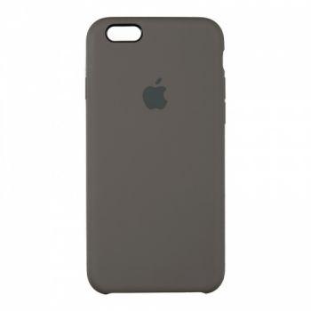 Оригинальный чехол накладка Soft Case для iPhone 6 Plus кофейный