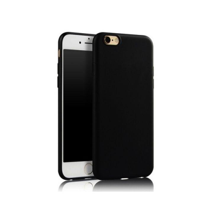 Черный силиконовый чехол накладка UltraSlim для iPhone 7