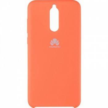 Оригинальный чехол накладка Soft Case для Huawei Mate 10 Lite оранжевый