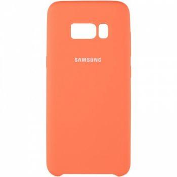 Оригинальный чехол накладка Soft Case для Samsung J810 (J8-2018) желтый