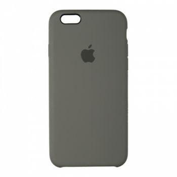Оригинальный чехол накладка Soft Case для iPhone 6 Plus серый
