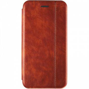 Кожаная книжка Cover Leather от Gelius для Xiaomi Redmi 6a Brown