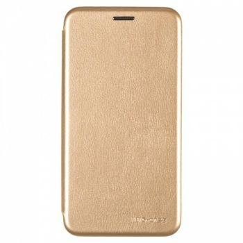 Чехол книжка из кожи Ranger от G-Case для Meizu M8c золото