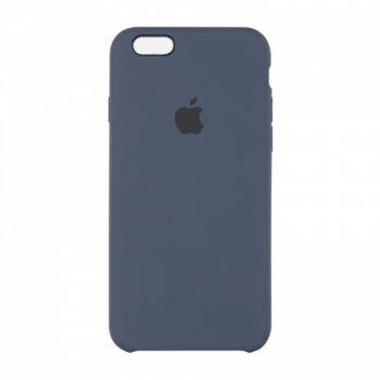 Оригинальный чехол накладка Soft Case для iPhone 7 Plus синий