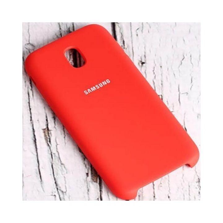 Чехол бампер красного цвета S-Cover для Samsung Galaxy J730 2017 оригинал