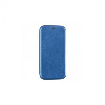 Чехол книжка синего цвета Lux для Samsung Galaxy S5