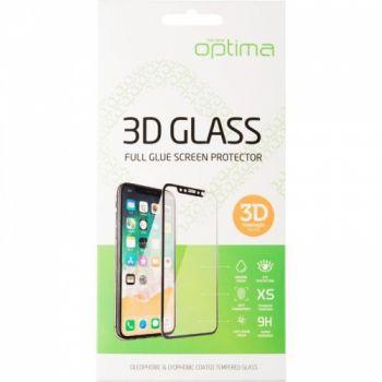 Защитное стекло Optima 3D для Samsung A50 черный