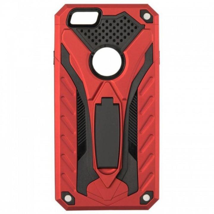 Бронированный чехол накладка Cavalier от iPaky для Samsung J710 (J7-2016) красный