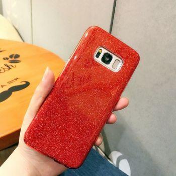 Чехол бампер Amazing красного цвета для Samsung Galaxy S8 Plus